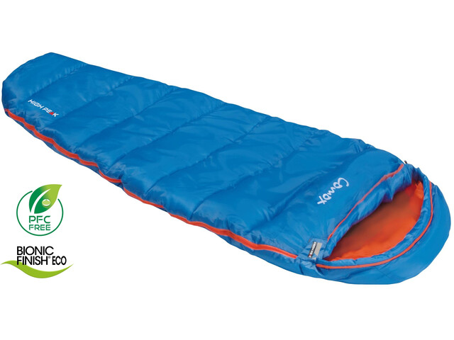High Peak Comox Saco de Dormir, azul/naranja